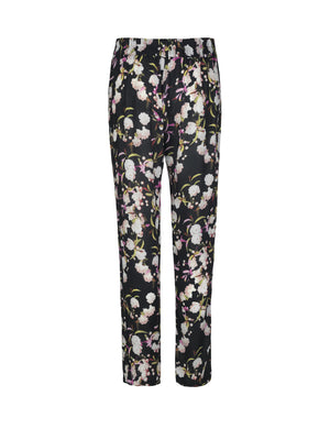 Load image into Gallery viewer, 1372VIS Pants Cherry Blossom Black