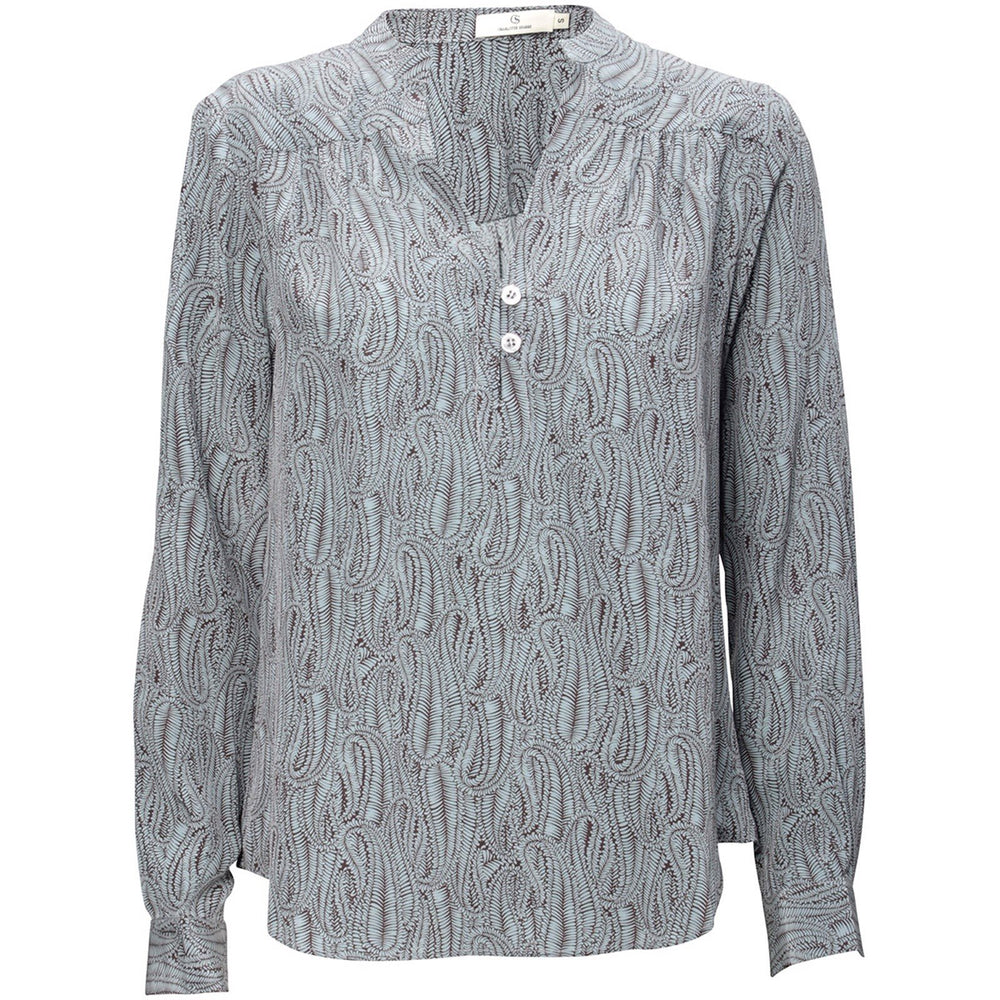 Load image into Gallery viewer, 1416 Easy blouse Cemille Light petrol