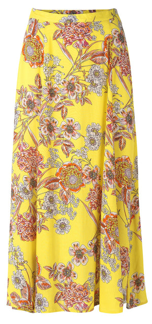 2152 Summer skirt Emily Yellow