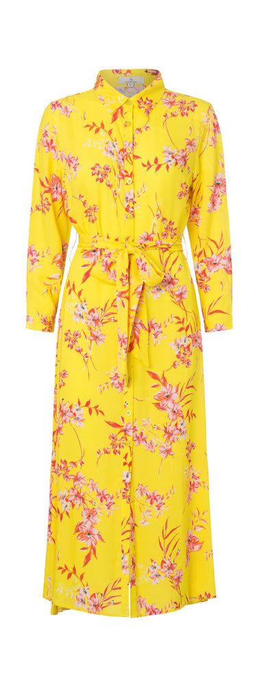 Load image into Gallery viewer, 2357 My shirt dress Iben Yellow