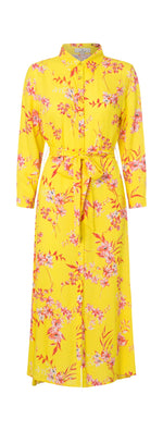 2357 My shirt dress Iben Yellow