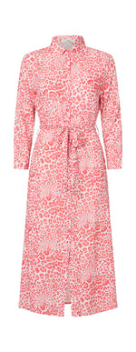 2357 My shirt dress Wildlife Red