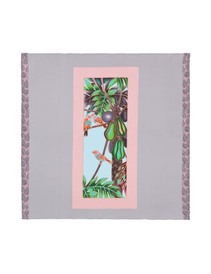Load image into Gallery viewer, 90-402 Exotic bird Grey/Rose