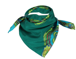 Load image into Gallery viewer, CS545 Ida allover Turquoise/Green