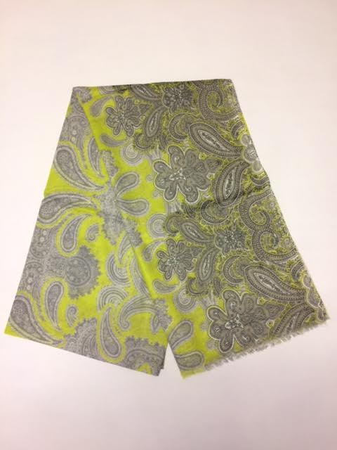 Load image into Gallery viewer, SCS055 Cotton Power paisley Yellow