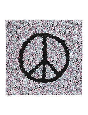 Load image into Gallery viewer, 90-378 Flower peace Black