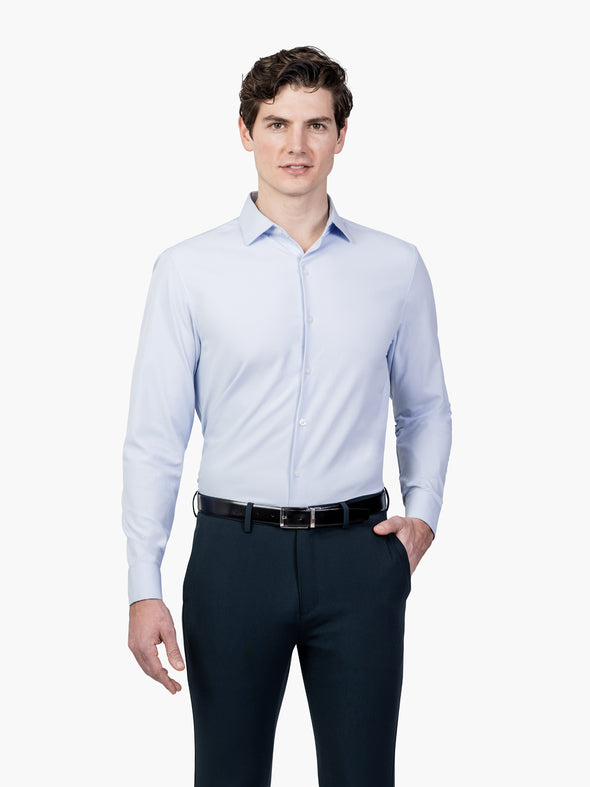 Men's Aero Zero Dress Shirt - Blue