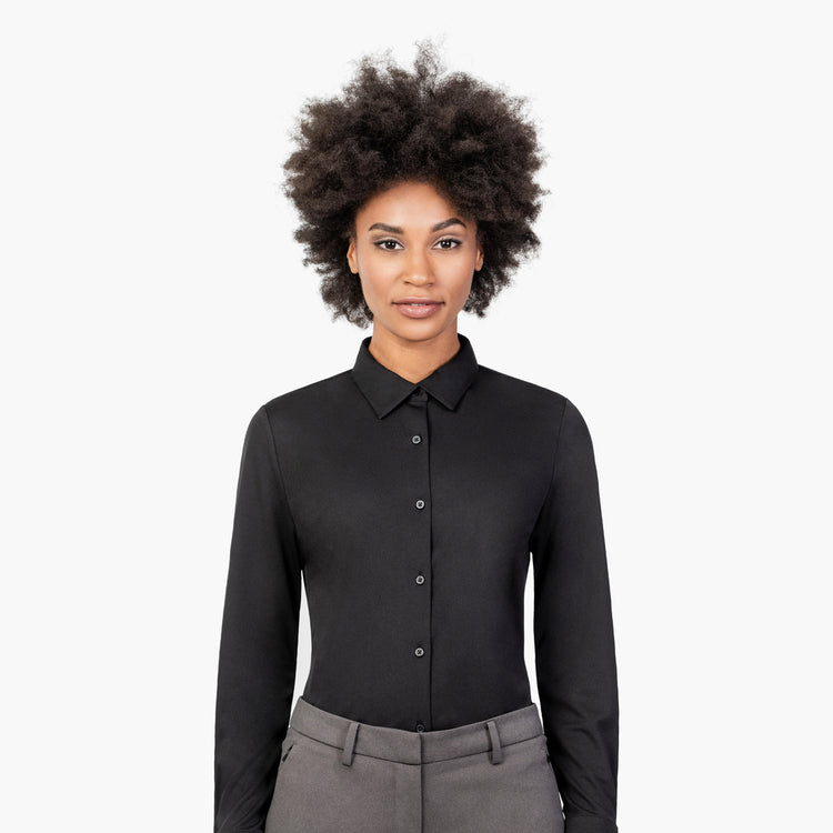 Women's Apollo Tailored Shirt - Black