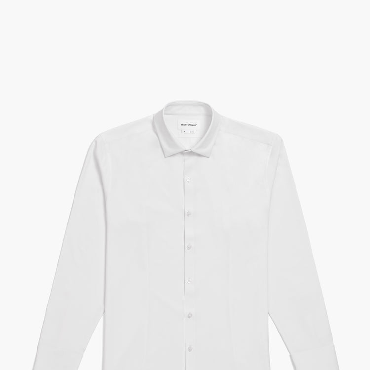 Men's Aero Zero Dress Shirt - White 2.0