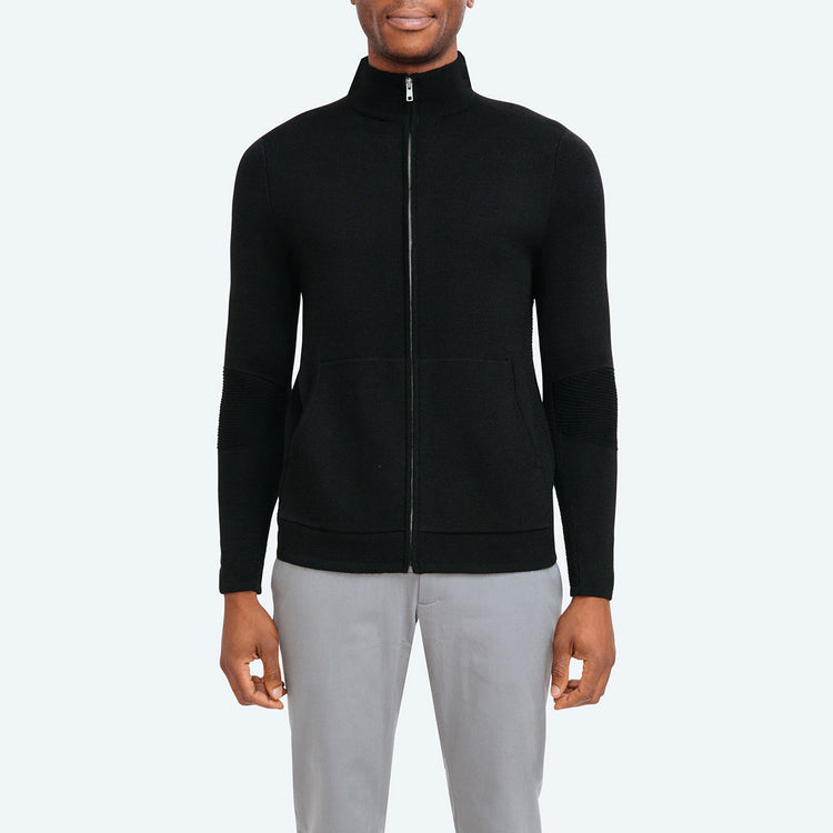 Atlas Full Zip - Black
