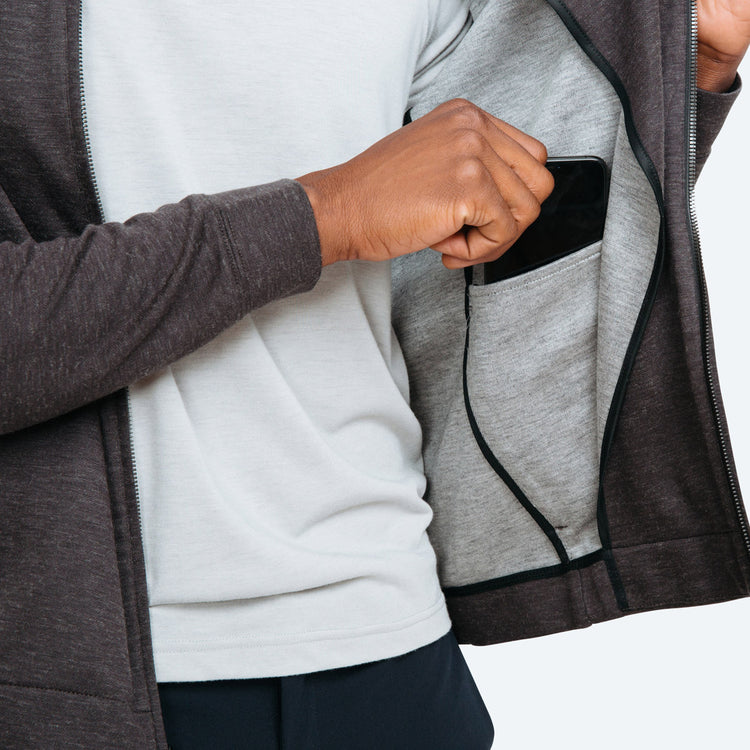 Men's Composite Full Zip - Grey