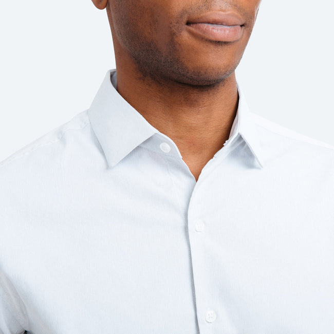 Aero Dress Shirt - Solid Grey Oxford Nylon