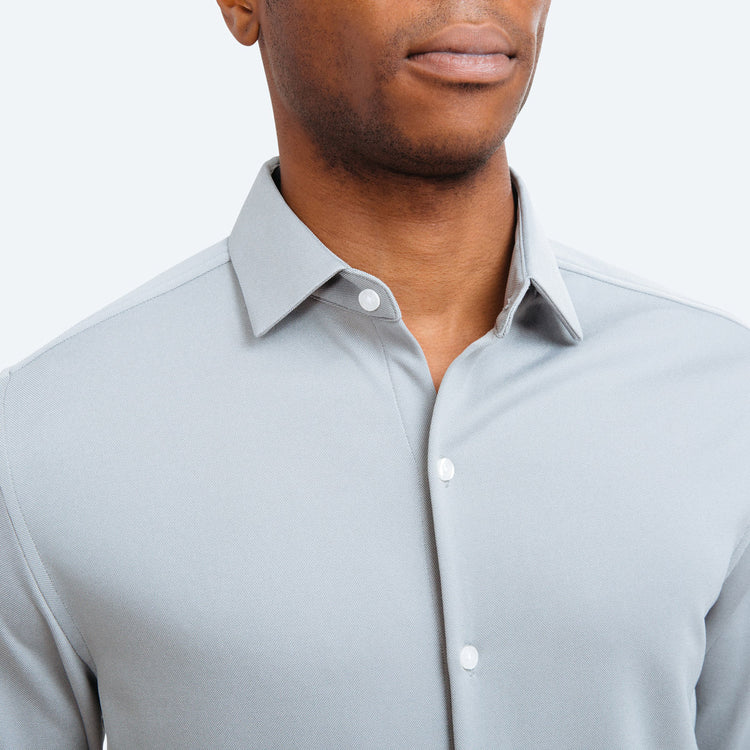 Apollo 3 Dress Shirt - Grey Oxford