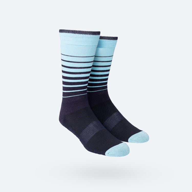 Atlas Dress Sock - Gradient Stripe