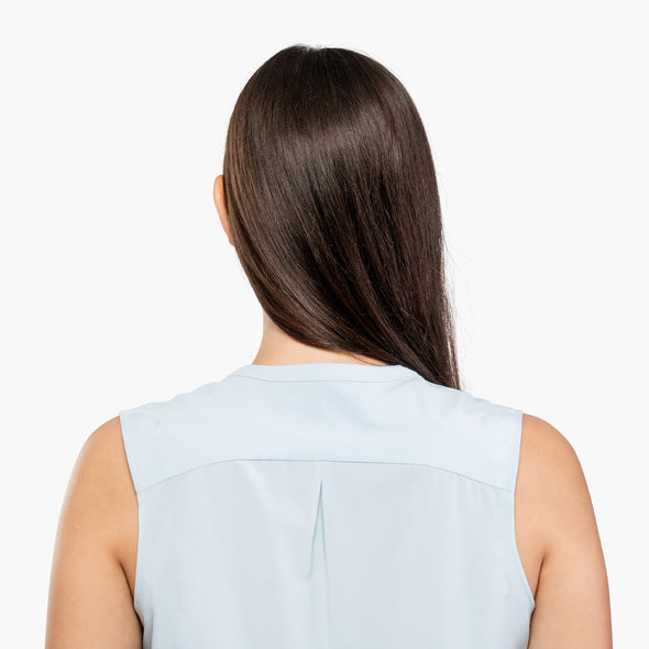 Juno Sleeveless Blouse - Chambray