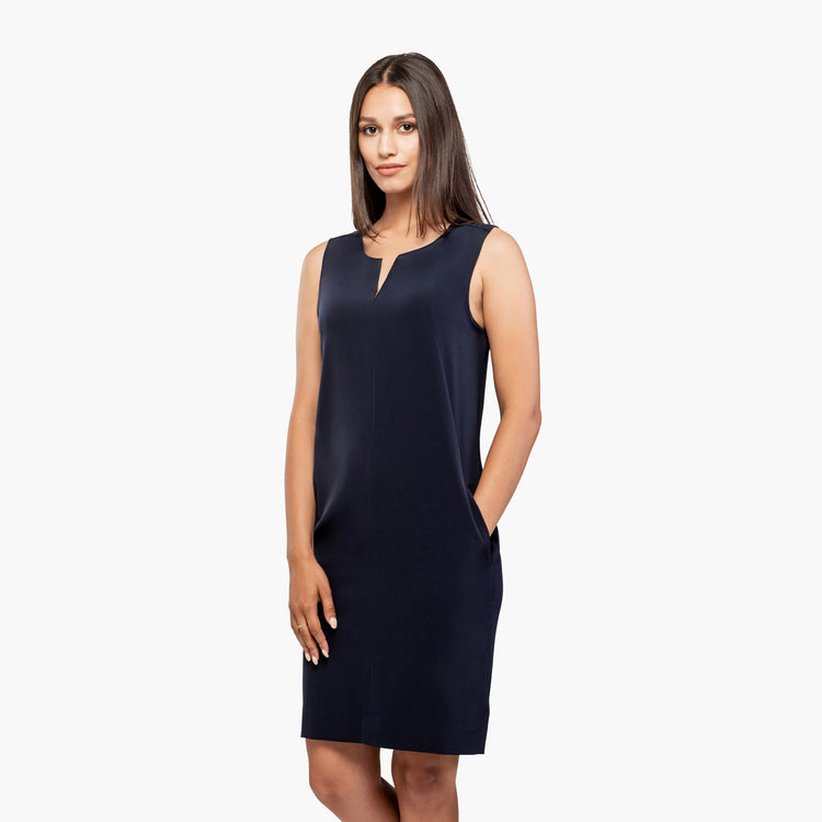 Women's Swift Sleeveless Dress - Navy
