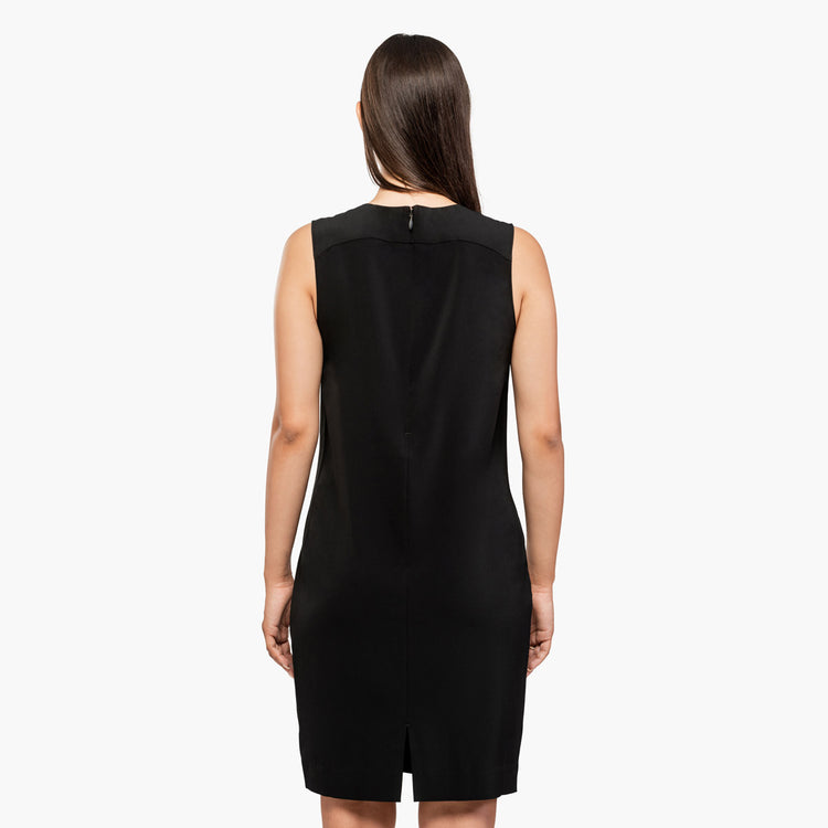Women's Swift Sleeveless Dress - Black