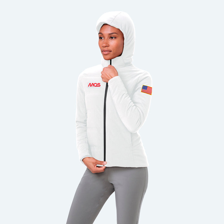 Women's Mercury Intelligent Heated Jacket - White