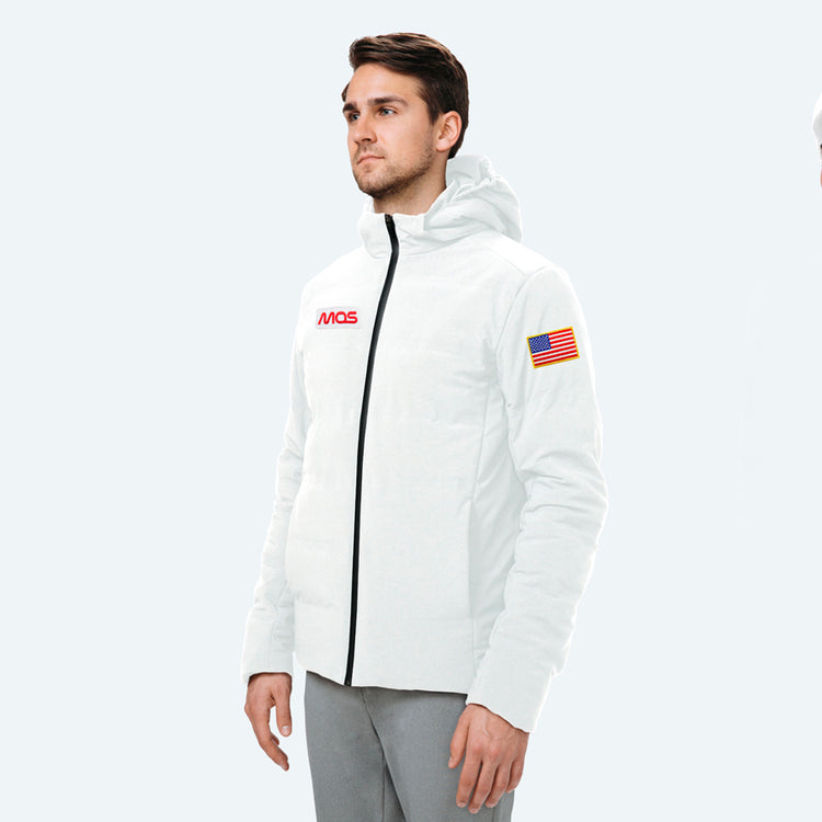 Men's Mercury Intelligent Heated Jacket - White