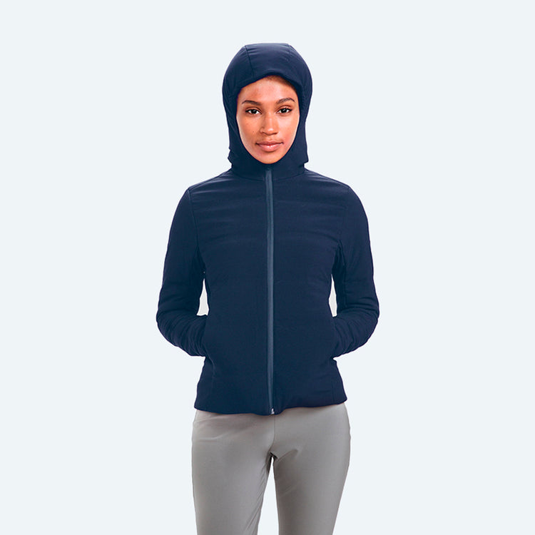 Women's Mercury Intelligent Heated Jacket - Navy