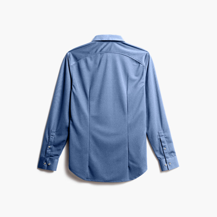 Apollo Dress Shirt - Steel Blue (Recycled)