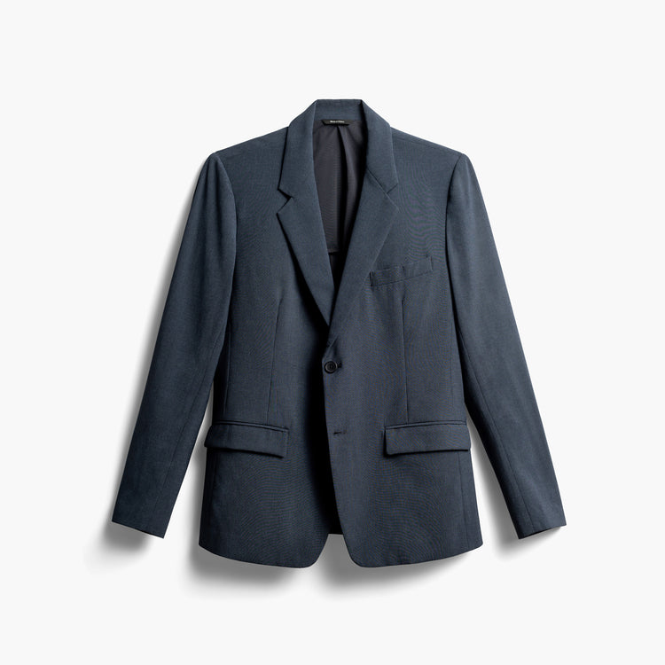 Men's Velocity Suit Jacket - Blue Houndstooth
