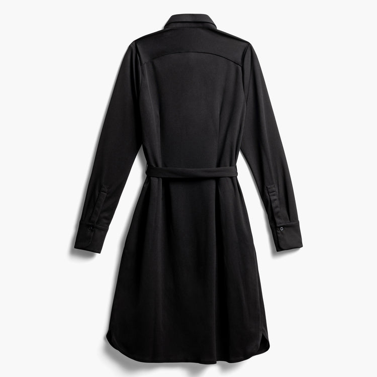 Women's Apollo Shirt Dress - Black