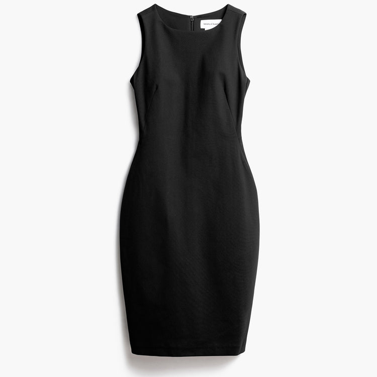 Women's Kinetic Sheath Dress - Black