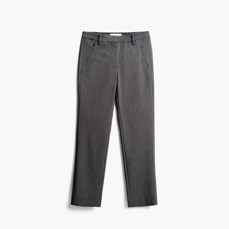 Women's Velocity Crop Pant - Charcoal Heather