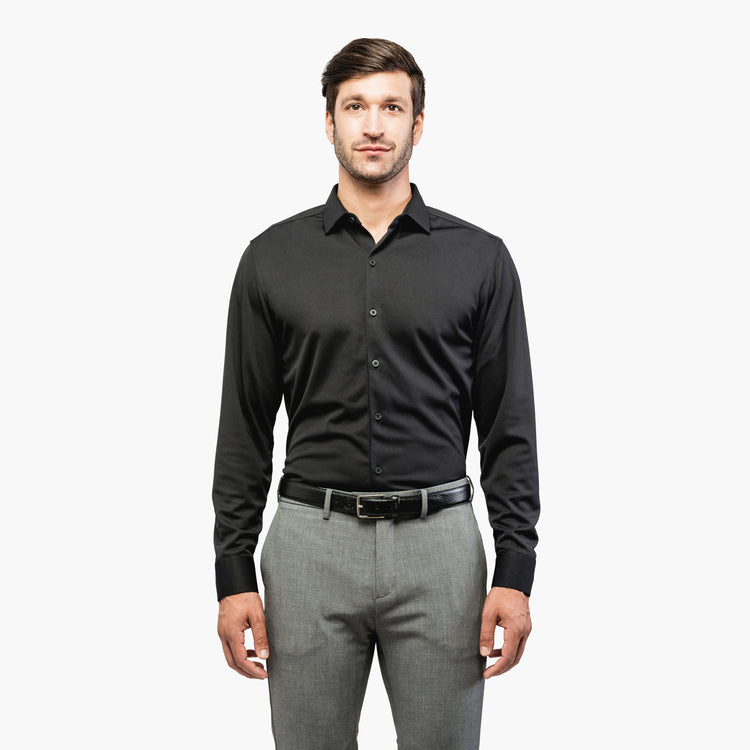 Apollo Dress Shirt - Black