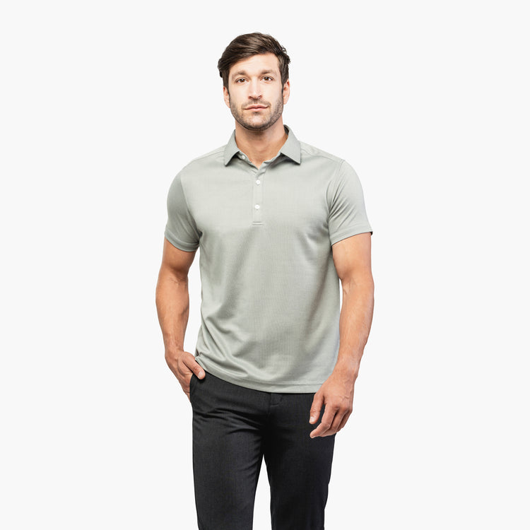 Apollo Polo - Slate Grey