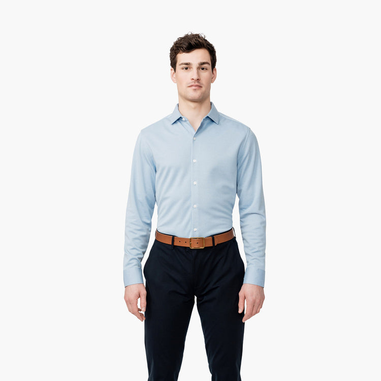 Apollo Dress Shirt - Blue Heather