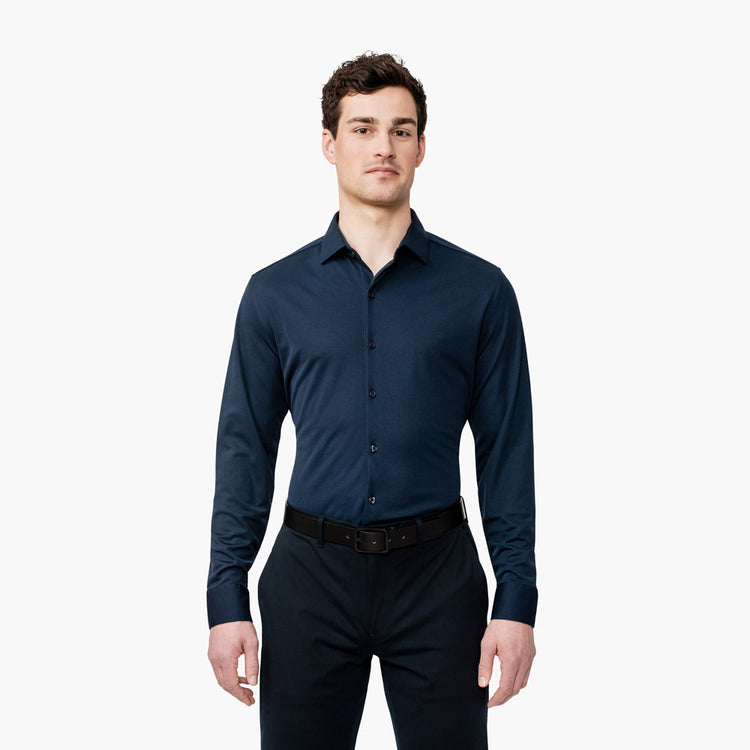 Apollo Dress Shirt - Navy Blue