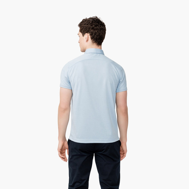 Apollo Polo - Blue Heather