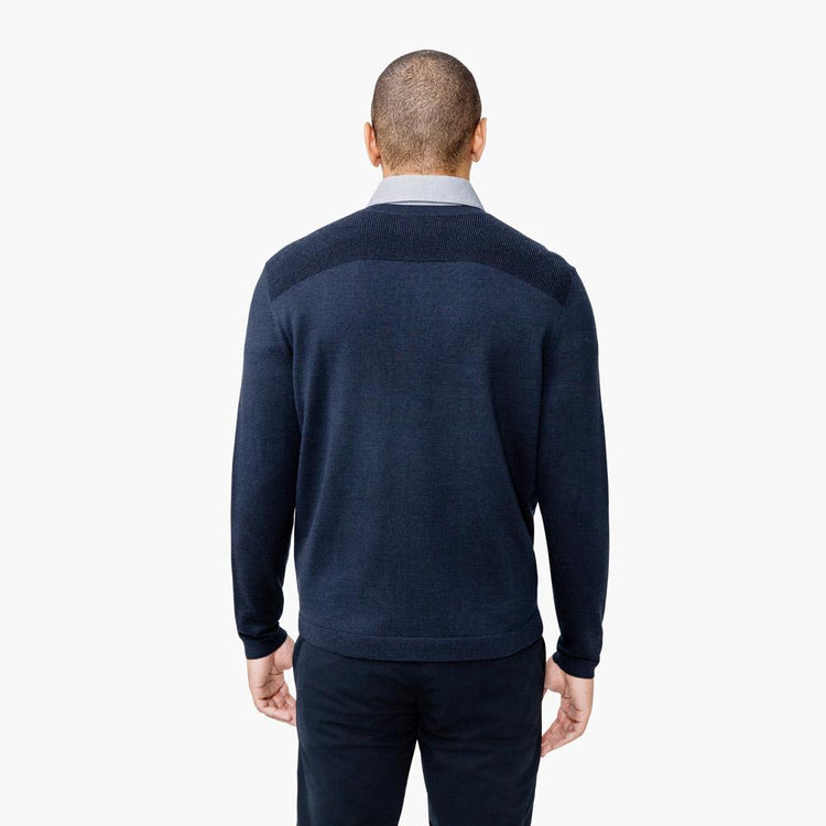 Atlas Wool Sweater - Navy