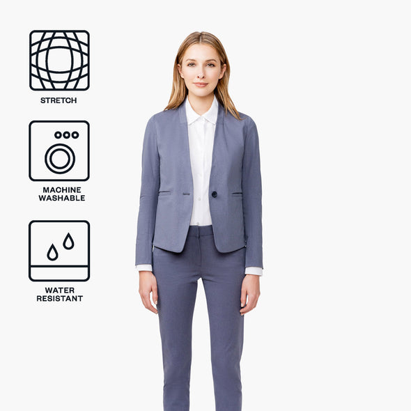 Women's Kinetic Blazer - Indigo Heather