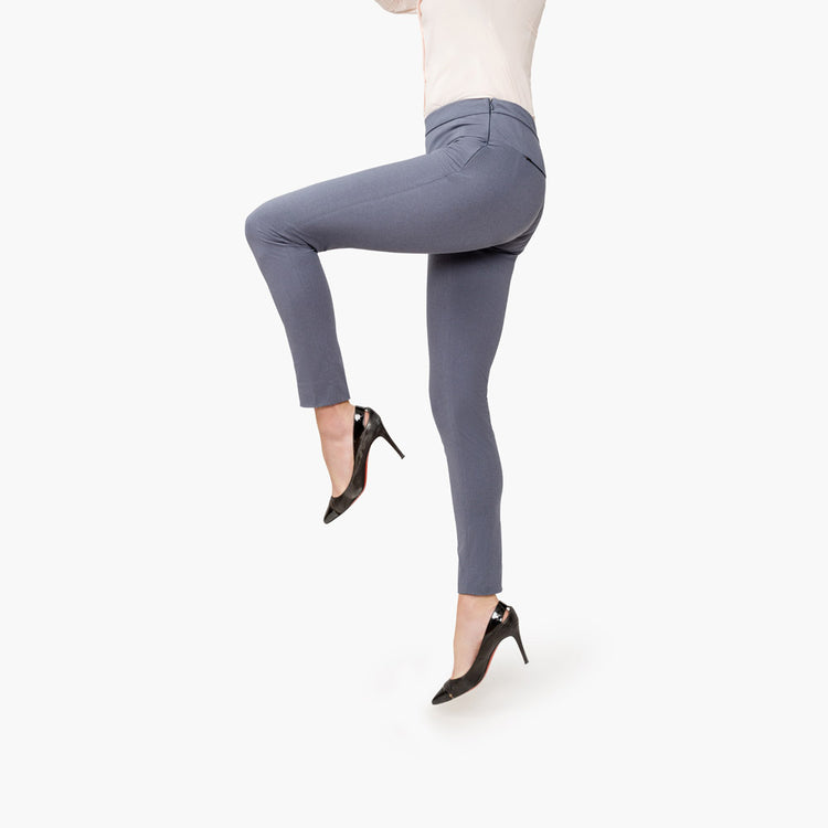 Women's Skinny Kinetic Pants - Indigo Heather
