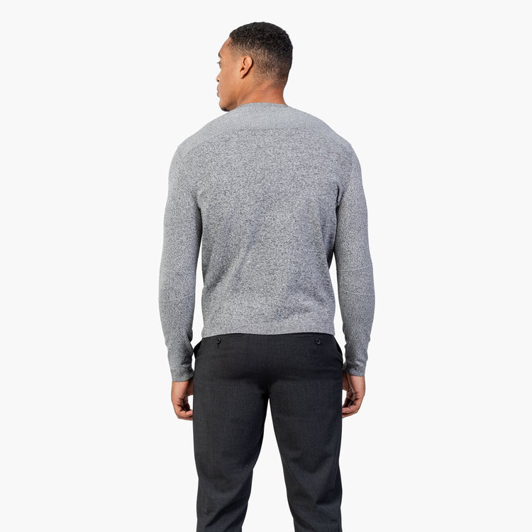 Atlas Sweater - Grey Static