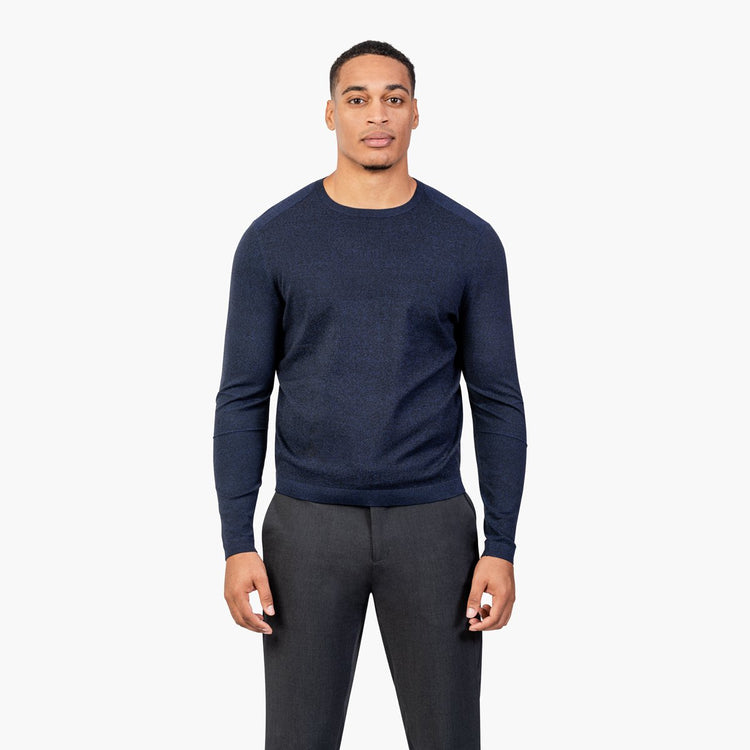 Atlas Sweater - Navy Static