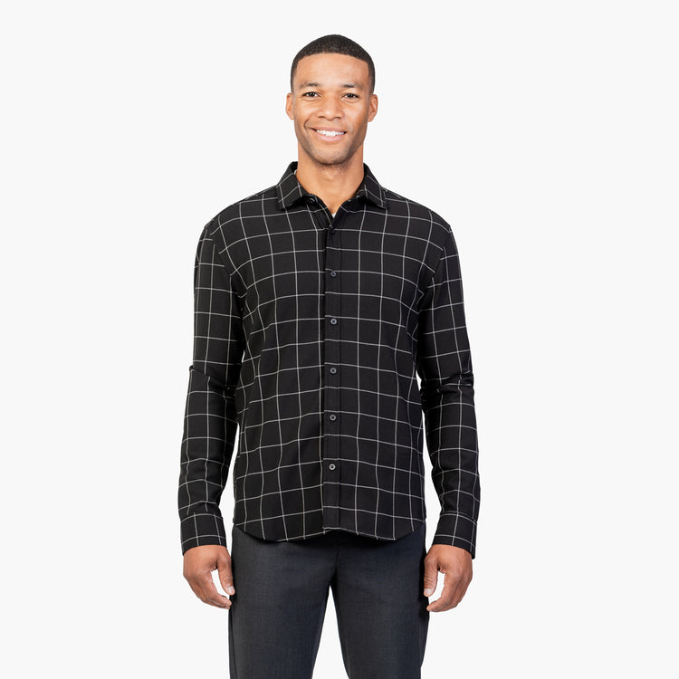 Fusion Overshirt - Black