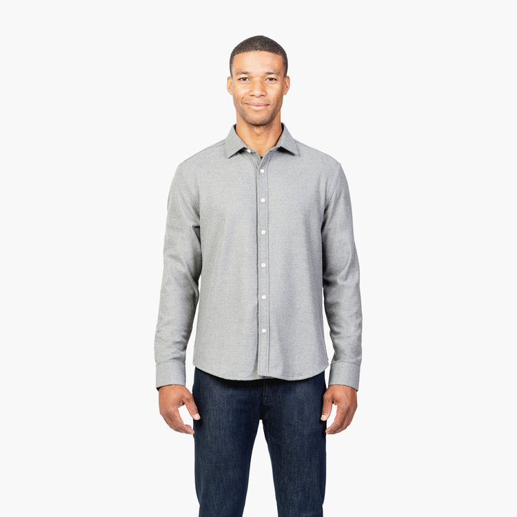 Fusion Overshirt - Medium Grey