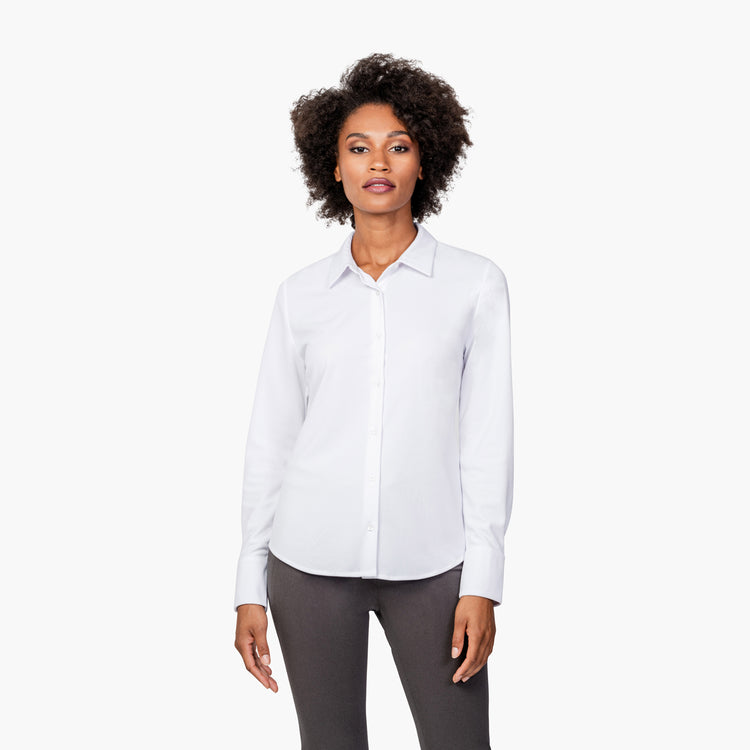 Women's Apollo Tailored Shirt - White