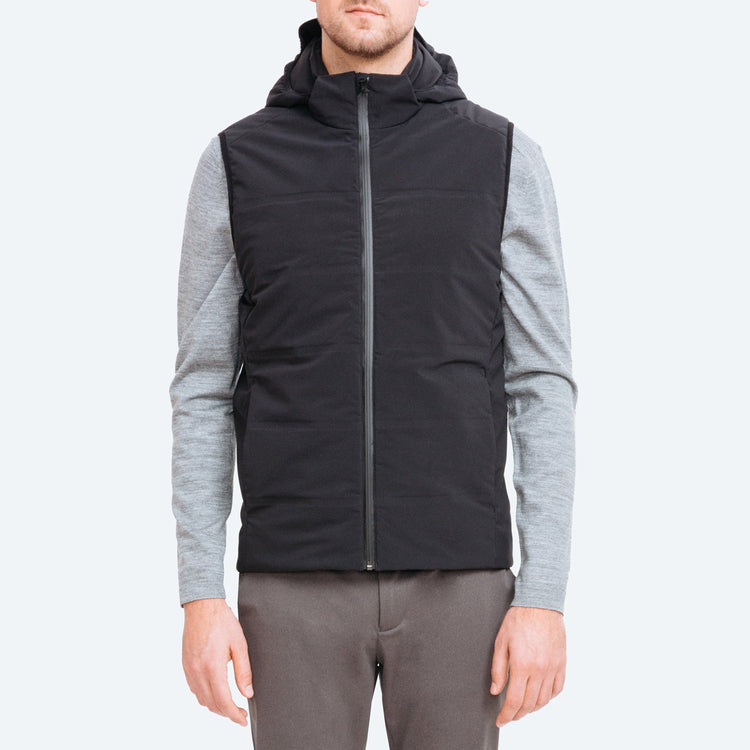 Men's Mercury Intelligent Heated Vest - Black