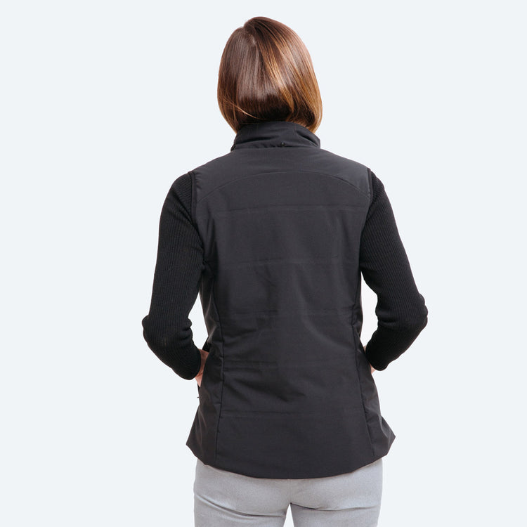 Women's Mercury Intelligent Heated Vest - Black