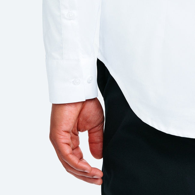 Men's Aero Dress Shirt - White Nylon