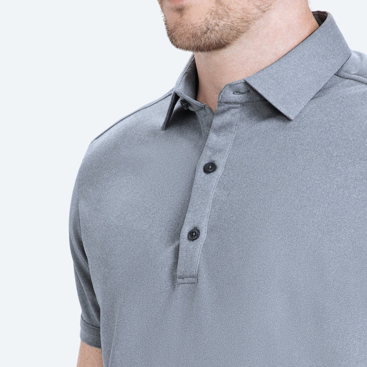 Apollo 3 Polo - Cool Grey