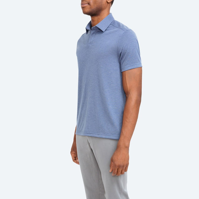 Men's Composite Slim Fit Polo - Blue