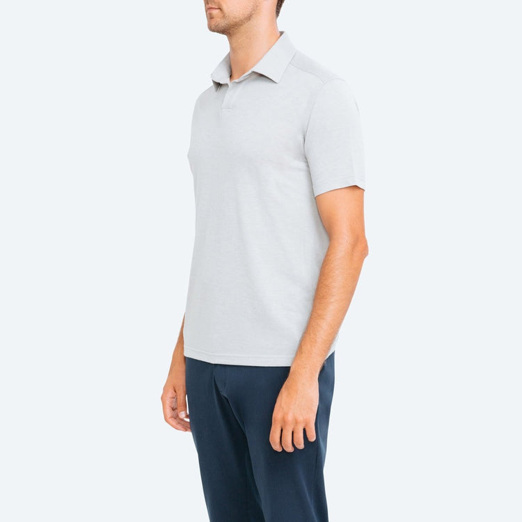 Composite Slim Fit Polo - Grey