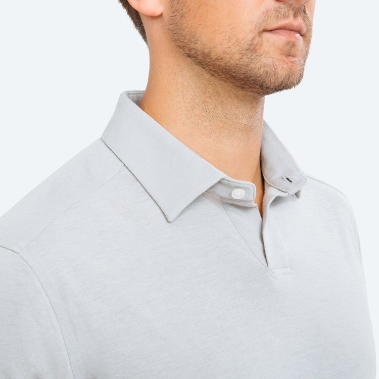 Men's Composite Slim Fit Polo - Grey