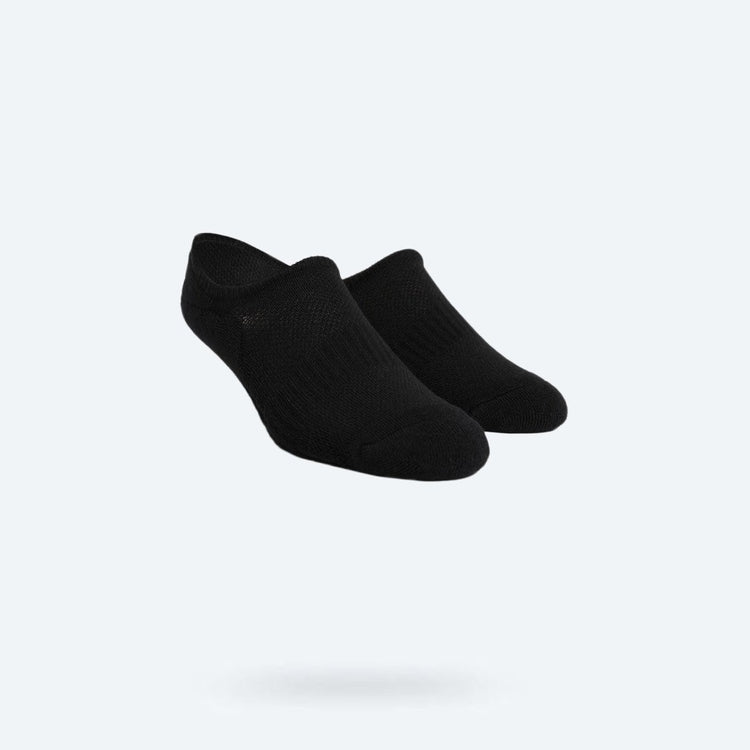 Atlas No Show Sock - Black